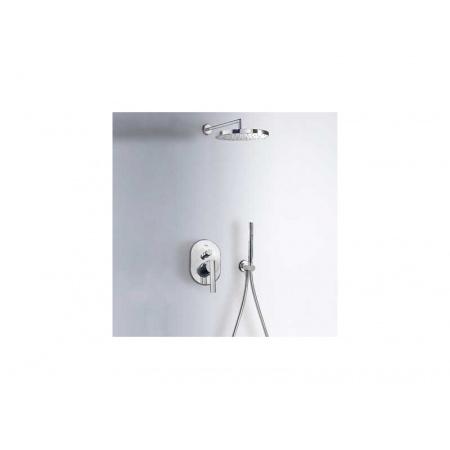 Tres Lex-Tres Zestaw prysznicowy podtynkowy z deszczownicą i chrom 181.880.05