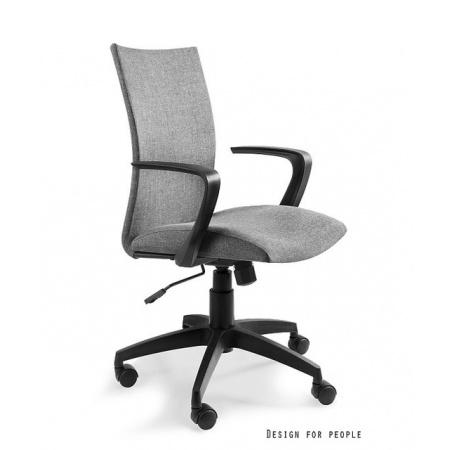 Unique Millo Fotel biurowy, szary W-157-1-8