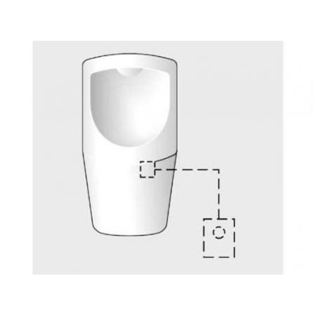 Schell Elementy podtynkowe Automat pisuarowy compact hf bateryjny 011660099