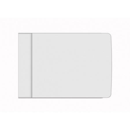 Scarabeo Teorema Deska sedesowa zwykła, biała 8703/A