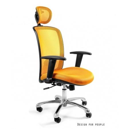 Unique Expander Fotel biurowy, żółty W-94-10