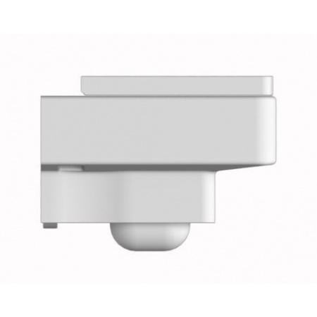 Scarabeo Teorema Muszla klozetowa miska WC podwieszana 50x36x33 cm, biała 8701