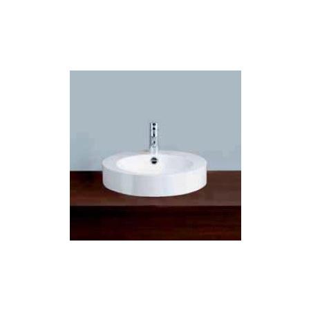 Alape AB.K450H.136+LS25-RE Umywalka nablatowa 45 cm emaliowana biała 3009080000