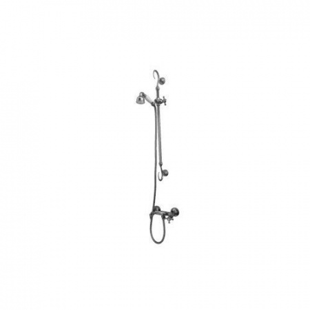 Kerasan Retro Zestaw prysznicowy, chrom 7399K0
