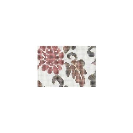 BISAZZA Summer Flowers mozaika szklana zielona (BIMSZSFL)