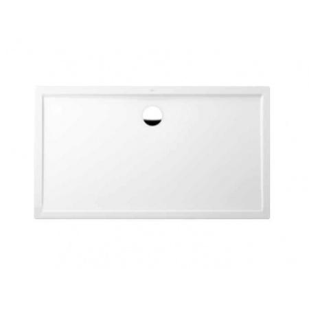 Villeroy & Boch Futurion Flat Brodzik prostokątny, duży - 150/100/2,5 cm Star white (DQ1510FFL2V96)