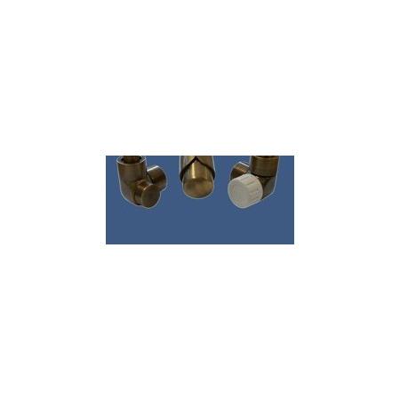 Schlosser Zestaw łazienkowy LUX GZ 1/2x złączka 16x2 PEX - kątowy antyczny mosiądz (603700052)