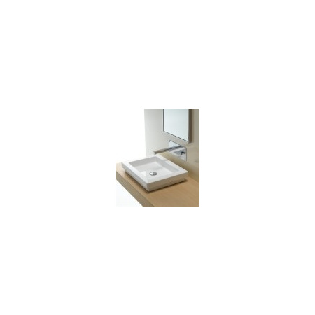 AREA CERAMICA Logic Umywalka 50x40 biała (AREA CERAMICAUL5040)