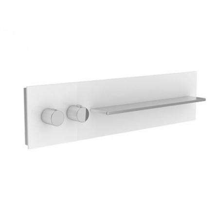 Keuco Me Time Spa Bateria termostatyczna DN 20 szkło białe 1 zapis 56161013001