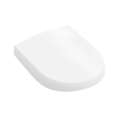 Villeroy & Boch My Nature Deska sedesowa wolnoopadająca, z powłoką CeramicPlus, biała Weiss Alpin 9M33S1R1