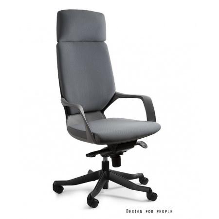 Unique Apollo Fotel biurowy, czarny/szary W-909B-BL417