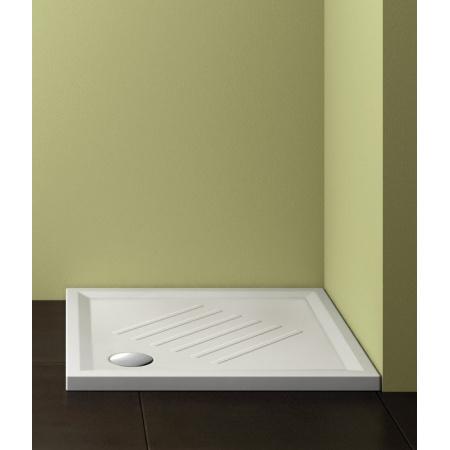 Catalano Verso New Brodzik 80x80 cm z powłoką CataGlaze, biały 18080H600