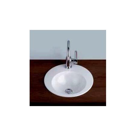 Alape EB.K400H LS25-LI Umywalka wpuszczana w blat 40 cm emaliowana biała 2003090401