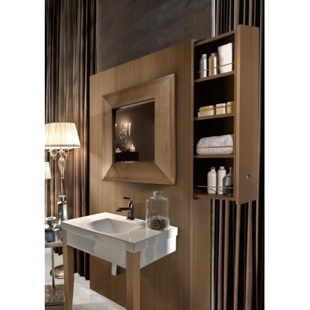 Kerasan Bentley Drewniany panel do umywalki z szufladą 140 cm, jasne drewno 917248