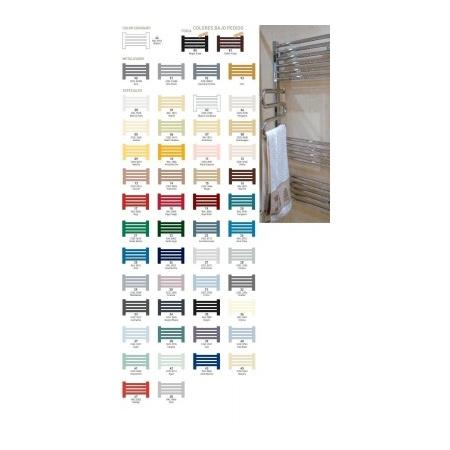 Zeta STENBAD Grzejnik łazienkowy 713x585, dolne zasilanie, rozstaw 455, kolory especiales - ST713x585E