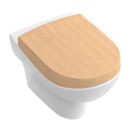 Villeroy & Boch My Nature Toaleta WC podwieszana 37x60 cm lejowa z powłoką CeramicPlus, biała Weiss Alpin 561010R1