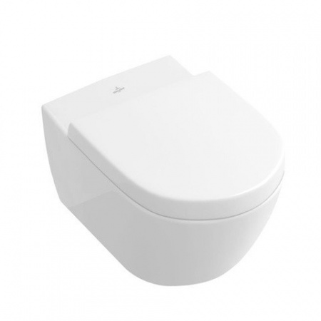 Villeroy & Boch Subway 2.0 Miska WC lejowa 37,5x56,5 cm, biała - Weiss Alpin 56001001