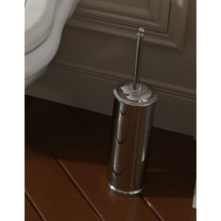 Kerasan Retro Stojąca szczotka do WC, chrom 737690