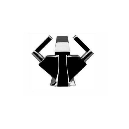 IB RUBINETTERIE BELMONDO LEVA Bateria umywalkowa czarny BL200RNP