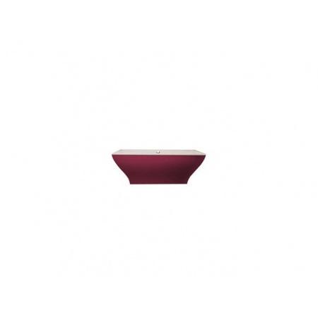 Villeroy & Boch La Belle Wanna prostokątna 180x80 cm, wolnostojąca, z obudową w kolorze Framboise - Star white (BQ180LAB2PDDUV96)
