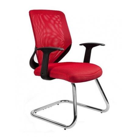Unique Mobi Skid Fotel biurowy, czerwony W-953-2