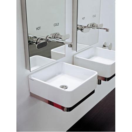 Flaminia Miniwash Umywalka ścienna 40x40x13cm, biała MWL40
