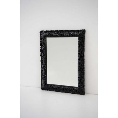 Art Ceram Italiana Lustro 70x90 cm, czarna rama ACS00203