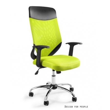 Unique Mobi Plus Fotel biurowy, zielony W-952-9