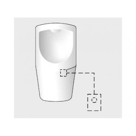Schell Elementy podtynkowe Automat pisuarowy compact hf 230v 011650099