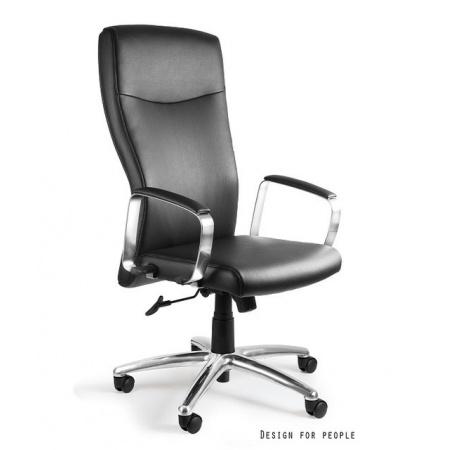 Unique Adella Fotel biurowy, czarny C239