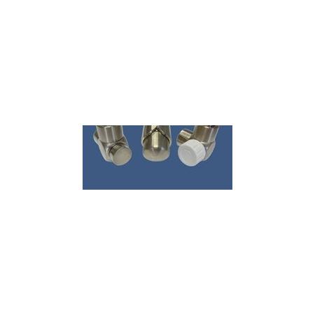 Schlosser Zestaw łazienkowy Exclusive GZ1/2 x złączka 16x2 PEX - kątowy stal (601700122)