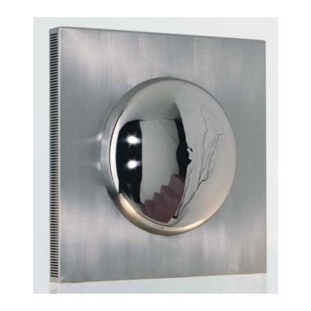 Zeta BOERAS Grzejnik dekoracyjny 700x700, kolor INOX - BO007000700