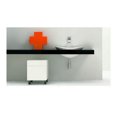 Flaminia IO Półka do umywalki 150-200x55x10cm, ciemny dąb IO60M3