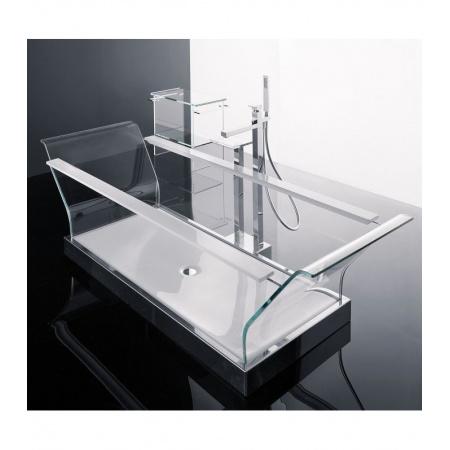 Novellini Elysium Sense 1 Wanna wolnostojąca 200x78 cm szklana, biała CRI2200782-A0K