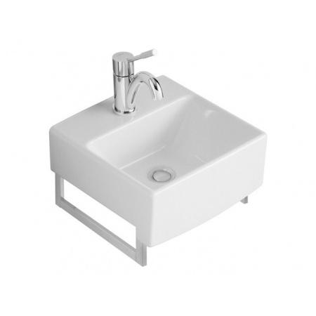 Villeroy & Boch Pure Basic Umywalka klasyczna 35x35 cm - Weiss Alpin Ceramicplus (731435R1)