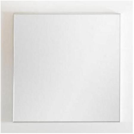 Antado Akcesoria łazienkowe Lustro Aluminium białe ALB-100x80