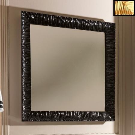 Kerasan Retro Lustro łazienkowe 100x100 cm, złota rama 736403