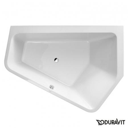 Duravit Paiova 5 Wanna narożna akrylowa ze zintegrowaną obudową 190x140cm, prawa, biała 70039700000000