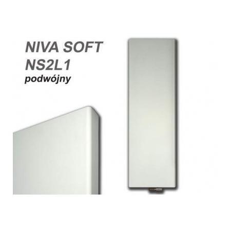 Vasco Niva Soft NS2L1 Grzejnik dekoracyjny podwójny pionowy 540x1820 mm, biały RAL9016 NS2L1PODWOJNY540X1820RAL