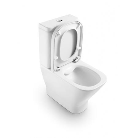 Roca Gap Muszla klozetowa miska WC kompaktowa 36,5x40x60 cm, biała A34273700M