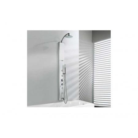 Novellini THINK 2 Panel prysznicowy - wannowy Termostatyczny THINKN2VTE-B