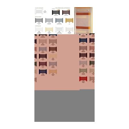 Zeta BAGNOLUS Grzejnik łazienkowy 1145x750, dolne zasilanie, rozstaw 720, kolory especiales - SB1145x750E