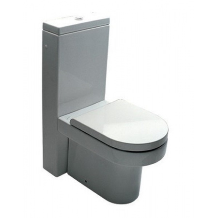 Hatria Daytime Zbiornik WC z podłączeniem z tyłu 37x90x13 cm, biały Y0MK