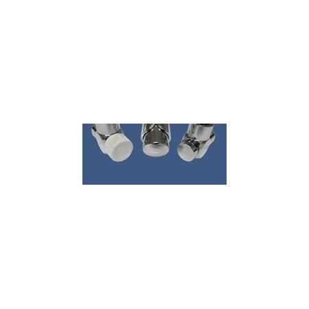 Schlosser Zestaw łazienkowy Exclusive GZ1/2 x złączka 16x2 PEX - kątowy chrom (601700116)