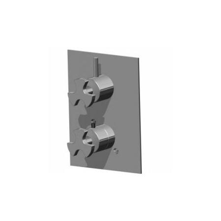 IB RUBINETTERIE BELMONDO TRILOBO Bateria prysznicowa czarny TE530_BTNP