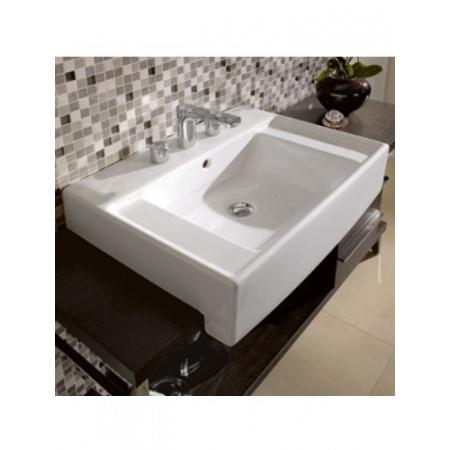 Villeroy & Boch Pure Basic Umywalka klasyczna 65x50 cm, biała Weiss Alpin 71066501