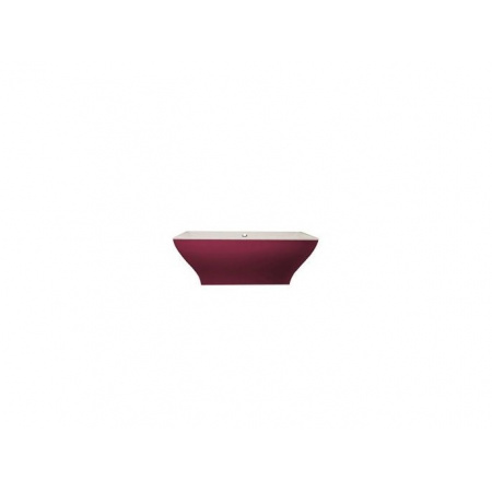 Villeroy & Boch La Belle Wanna prostokątna 180x80 cm, wolnostojąca, z obudową w kolorze Framboise - Weiss Alpin (BQ180LAB2PDDUV01)