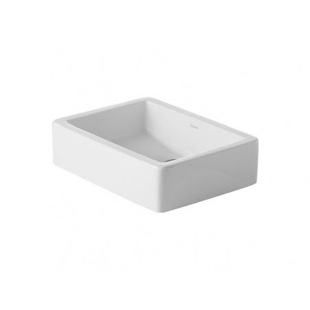 Duravit Vero Umywalka nablatowa 50x38 cm z powłoką WonderGliss, biała 04555000001