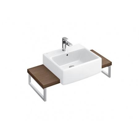 Villeroy & Boch Pure Basic Umywalka meblowa 50x50 cm - Weiss Alpin Ceramicplus (71125GR1)