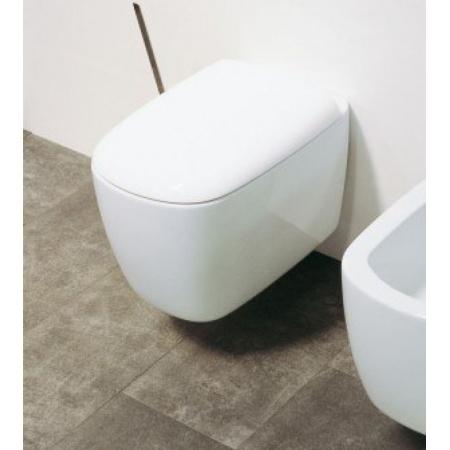 Flaminia Mono Deska sedesowa zwykła 45,2x35x6,3cm, biała MNCW02
